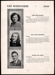 Page 16, 1947 Edition, Northeastern High School - Les Memoires Yearbook (Manchester, PA) online yearbook collection