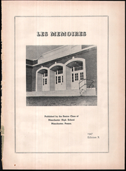 Page 5, 1947 Edition, Northeastern High School - Les Memoires Yearbook (Manchester, PA) online yearbook collection