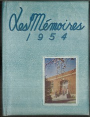 Northeastern High School - Les Memoires Yearbook (Manchester, PA) online yearbook collection, 1954 Edition, Page 1