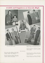 Page 16, 1951 Edition, Lincoln High School - Ellwoodian Yearbook (Ellwood City, PA) online yearbook collection