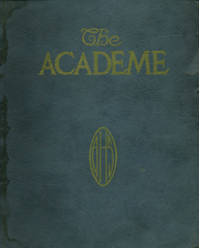 Page 1, 1922 Edition, Academy High School - Academe Yearbook (Erie, PA) online yearbook collection