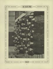 Page 12, 1922 Edition, Academy High School - Academe Yearbook (Erie, PA) online yearbook collection