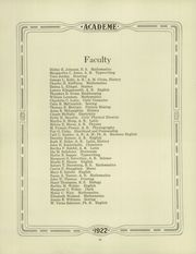 Page 14, 1922 Edition, Academy High School - Academe Yearbook (Erie, PA) online yearbook collection