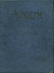 Page 1, 1930 Edition, Academy High School - Academe Yearbook (Erie, PA) online yearbook collection