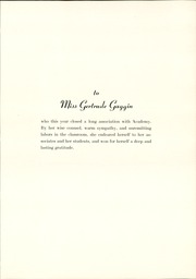 Page 9, 1939 Edition, Academy High School - Academe Yearbook (Erie, PA) online yearbook collection