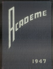 Academy High School - Academe Yearbook (Erie, PA) online yearbook collection, 1947 Edition, Page 1