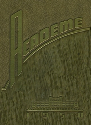 Academy High School - Academe Yearbook (Erie, PA) online yearbook collection, 1950 Edition, Page 1