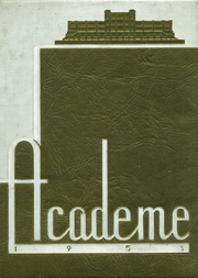 Academy High School - Academe Yearbook (Erie, PA) online yearbook collection, 1953 Edition, Page 1