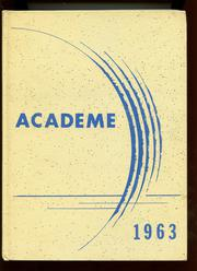 Academy High School - Academe Yearbook (Erie, PA) online yearbook collection, 1963 Edition, Page 1