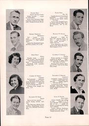 Page 14, 1950 Edition, Souderton High School - Unaliyi Yearbook (Souderton, PA) online yearbook collection