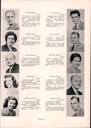 Page 15, 1950 Edition, Souderton High School - Unaliyi Yearbook (Souderton, PA) online yearbook collection