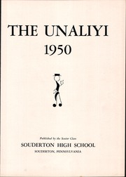 Page 7, 1950 Edition, Souderton High School - Unaliyi Yearbook (Souderton, PA) online yearbook collection