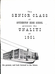 Page 7, 1951 Edition, Souderton High School - Unaliyi Yearbook (Souderton, PA) online yearbook collection