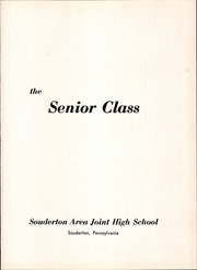 Page 5, 1960 Edition, Souderton High School - Unaliyi Yearbook (Souderton, PA) online yearbook collection