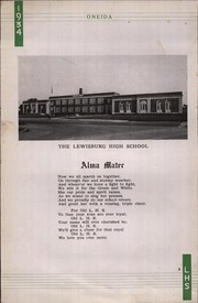 Page 12, 1934 Edition, Lewisburg High School - Oneida Yearbook (Lewisburg, PA) online yearbook collection