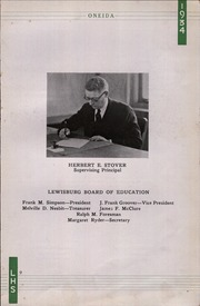Page 13, 1934 Edition, Lewisburg High School - Oneida Yearbook (Lewisburg, PA) online yearbook collection