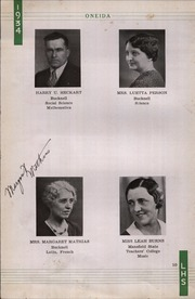Page 14, 1934 Edition, Lewisburg High School - Oneida Yearbook (Lewisburg, PA) online yearbook collection
