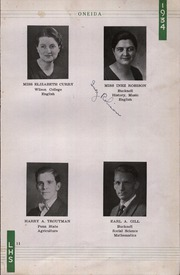 Page 15, 1934 Edition, Lewisburg High School - Oneida Yearbook (Lewisburg, PA) online yearbook collection