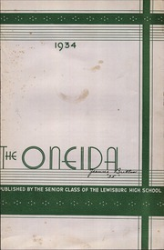 Page 7, 1934 Edition, Lewisburg High School - Oneida Yearbook (Lewisburg, PA) online yearbook collection