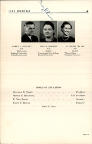 Page 16, 1942 Edition, Lewisburg High School - Oneida Yearbook (Lewisburg, PA) online yearbook collection