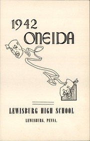 Page 7, 1942 Edition, Lewisburg High School - Oneida Yearbook (Lewisburg, PA) online yearbook collection