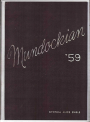 1959 Edition, Upper Dublin High School - Mundockian Yearbook (Fort Washington, PA)