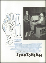 Page 5, 1959 Edition, Hempfield Area Senior High School - Spartonian Yearbook (Greensburg, PA) online yearbook collection