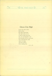 Page 8, 1926 Edition, Grove City Area High School - Pine Knot Yearbook (Grove City, PA) online yearbook collection