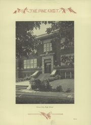 Page 15, 1932 Edition, Grove City Area High School - Pine Knot Yearbook (Grove City, PA) online yearbook collection