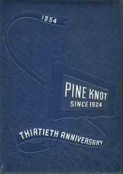 Page 1, 1954 Edition, Grove City Area High School - Pine Knot Yearbook (Grove City, PA) online yearbook collection
