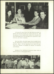 Page 14, 1954 Edition, Grove City Area High School - Pine Knot Yearbook (Grove City, PA) online yearbook collection