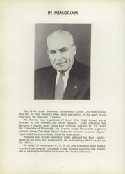 Page 8, 1957 Edition, Grove City Area High School - Pine Knot Yearbook (Grove City, PA) online yearbook collection