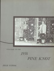 Page 7, 1958 Edition, Grove City Area High School - Pine Knot Yearbook (Grove City, PA) online yearbook collection