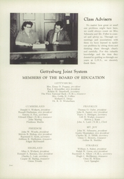Page 8, 1954 Edition, Gettysburg High School - Cannon Aid Yearbook (Gettysburg, PA) online yearbook collection