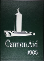 Gettysburg High School - Cannon Aid Yearbook (Gettysburg, PA) online yearbook collection, 1965 Edition, Page 1