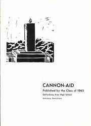 Page 5, 1965 Edition, Gettysburg High School - Cannon Aid Yearbook (Gettysburg, PA) online yearbook collection