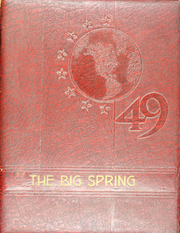 1949 Edition, Big Spring Joint High School - Big Spring Yearbook (Newville, PA)