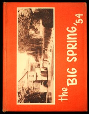 1954 Edition, Big Spring Joint High School - Big Spring Yearbook (Newville, PA)