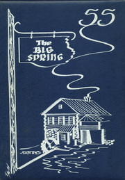1955 Edition, Big Spring Joint High School - Big Spring Yearbook (Newville, PA)