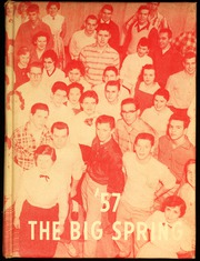 1957 Edition, Big Spring Joint High School - Big Spring Yearbook (Newville, PA)