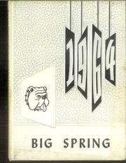 1964 Edition, Big Spring Joint High School - Big Spring Yearbook (Newville, PA)