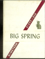 1966 Edition, Big Spring Joint High School - Big Spring Yearbook (Newville, PA)