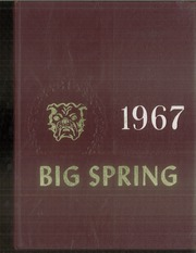1967 Edition, Big Spring Joint High School - Big Spring Yearbook (Newville, PA)