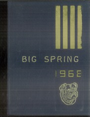 1968 Edition, Big Spring Joint High School - Big Spring Yearbook (Newville, PA)
