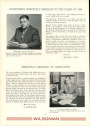 Page 10, 1949 Edition, Wilson High School - Wilsonian Yearbook (West Lawn, PA) online yearbook collection
