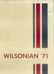 1971 Edition, Wilson High School - Wilsonian Yearbook (West Lawn, PA)