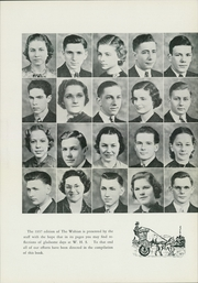 Page 13, 1937 Edition, Waynesboro Area Senior High School - Wayarian Yearbook (Waynesboro, PA) online yearbook collection
