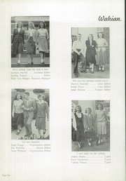 Page 10, 1949 Edition, Waynesboro Area Senior High School - Wayarian Yearbook (Waynesboro, PA) online yearbook collection