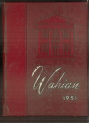 Waynesboro Area Senior High School - Wayarian Yearbook (Waynesboro, PA) online yearbook collection, 1951 Edition, Page 1