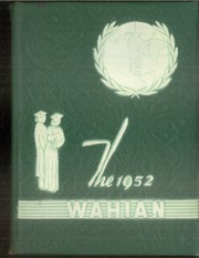 Waynesboro Area Senior High School - Wayarian Yearbook (Waynesboro, PA) online yearbook collection, 1952 Edition, Page 1